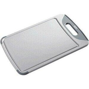 Schneidbrett Kunststoff grau 38x25cm Silit