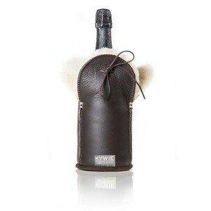 Champagnerkühler Leder Brown Kywie