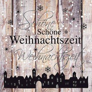 Servietten 33x33 cm Weihnachtszeit Ambiente