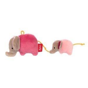 Rassel Elefanten rosa Red Stars Sigikid