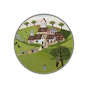 """Tortenplatte 30 cm rund """"Charm&Breakfast Design Naif"""" Villeroy & Boch"""