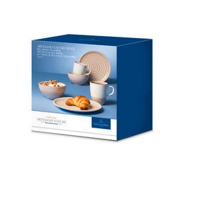 Breakfast Set 6tlg. Artesano Nature beige -- Villeroy & Boch