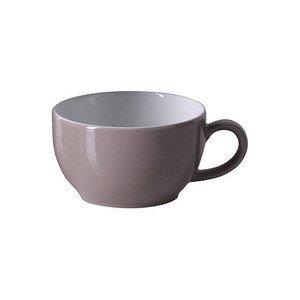 Kaffeeobertasse 0,25l Solid Color kiesel Dibbern