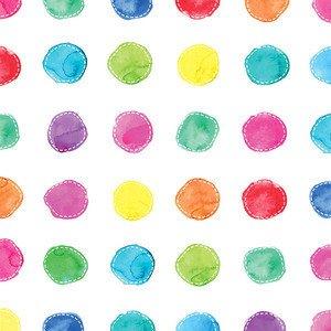 Servietten 33x33 cm Aquarell Dots PPD