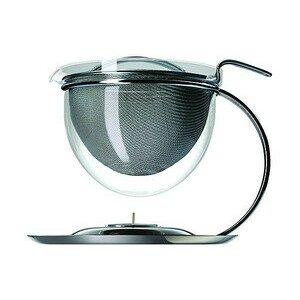 Teekanne mit Stövchen 1,5 l Filio Mono