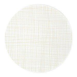 Teller flach 33 cm Mesh Line Cream Rosenthal