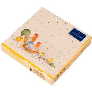 Servietten 33x33 cm Hühner Spring Fantasy Villeroy & Boch