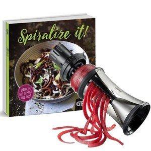 Spiralschneider Spirelli XL inkl. Kochbuch Gefu