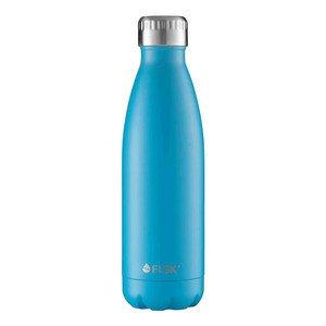 Isolierflasche 0,5l blau Edelstahl lackiert FLSK