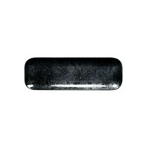 Platte recht. 33x11x1,7cm Fusion Karbon schwarz RAK