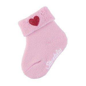 Baby Söckchen Gr.15/16 Herz rosa Sterntaler
