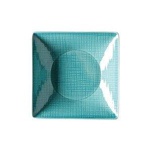 """Teller 20 cm x 20 cm quadratisch """"Mesh Aqua"""" Rosenthal"""