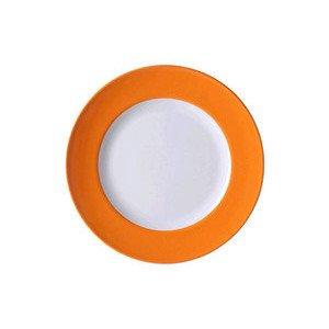 "Teller 26 cm ""Solid Color Orange"" flach Dibbern"