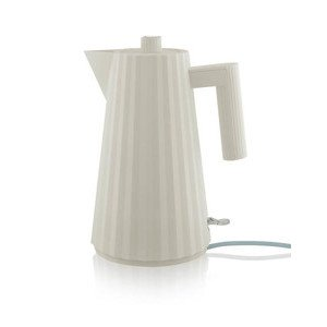 Wasserkocher elektrisch Plisse weiss Alessi