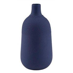 Perlenvase Design 4 indigoblau Ø5,5cm H.11,5cm Räder