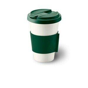 Coffee to go Becher tannengrün konisch-zylindrisch Dibbern