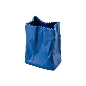 Vase 10 cm Tütenvase deep blue Rosenthal