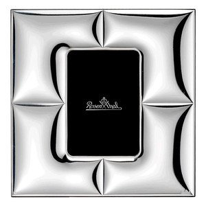 Bilderrahmen 9x13cm Silver Coll. Charge quadratisch Rosenthal