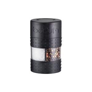 Salz-und Pfeffermühle Twin schwarz Kunststoff Bodum