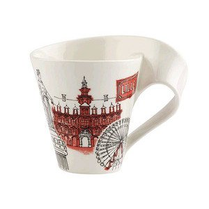 Becher m. Henkel 0,3 l Lille Cities of the World Mug Villeroy & Boch
