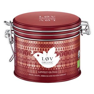 Tee Lovely Glögg 100 g in Dose Løv Organic