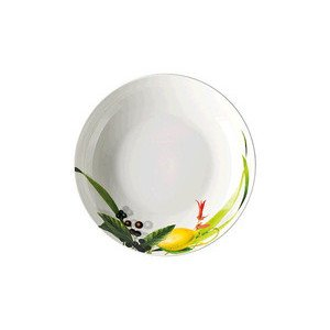"""Suppenteller 21 cm """"Brillance Les Fruits du Jardin"""" Rosenthal"""