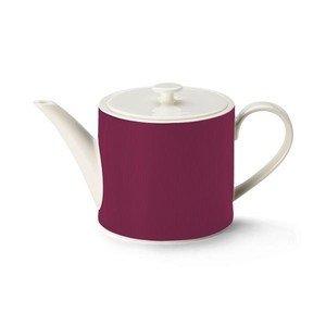 Teekanne zylinder 1,3l Excelsior bordeaux Dibbern