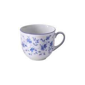 """Kaffee-Obertasse 210 ml rund """"Form 1382 Blaublüten"""" Arzberg"""