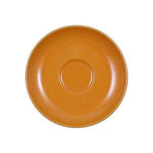 """Cappuccino-Untertasse rund """"Tipico Italiano VIP Orange 10328"""" Seltmann"""