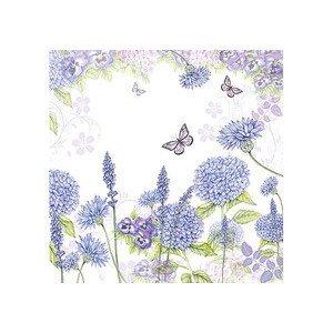 Servietten 33x33 cm Purple Wild Flowers Ambiente
