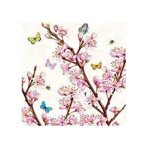 Servietten 25x25 cm Blossom Cream Ambiente
