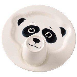 Teller m.Becher Pandabär Animal Friends Villeroy & Boch