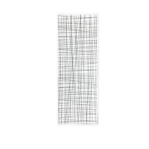 Platte flach 34x13cm Mesh Line Forest Rosenthal