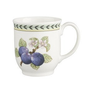 "Becher 420 ml mit Henkel ""French Garden Charm& Breakfast"" Villeroy & Boch"