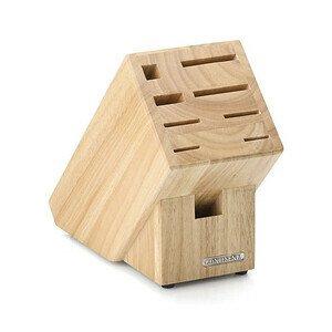 Messerblock mit Scherenschlitz Holz 22x11,5x22cm Continenta