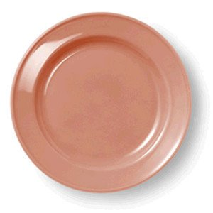 Teller flach 19cm Volldekor Solid Color papaya Dibbern