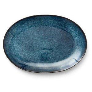 Platte 36x25 cm dunkelblau Bitz