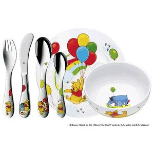 Kinder-Set 6-tlg Winnie the Pooh WMF