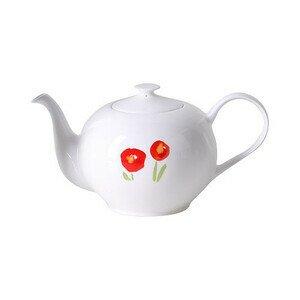Teekanne rund 1,30 l Impression Mohn Dibbern