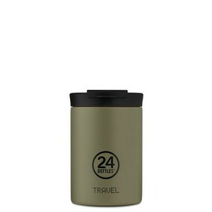 Thermobecher 0,35 l Travel Tumbler khakigrün 24bottles