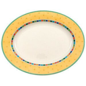 Platte Twist Alea Limone oval 34 cm Villeroy & Boch