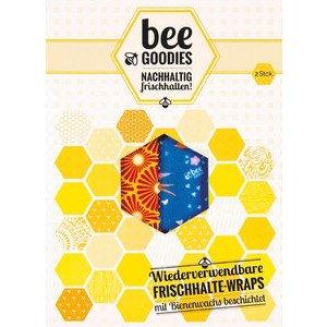 Frischhalte-Wraps 2er-Pack Bee Goodies