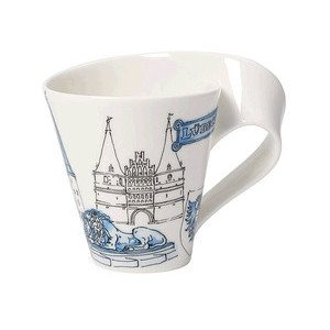 Becher m. Henkel 0,3 l Lübeck Cities of the World Mug Villeroy & Boch