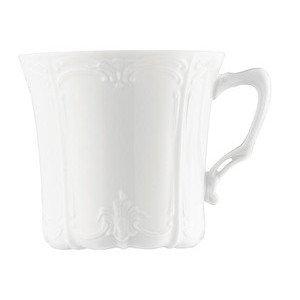 """Kaffee-Obertasse 200 ml rund """"Baronesse Weiss"""" Hutschenreuther"""