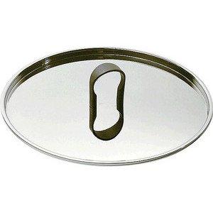 Deckel 24 cm La Cintura Edelstahl Alessi