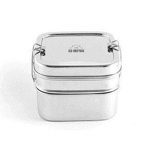 Brotbox Cube XL Edelstahl ECO Brotbox