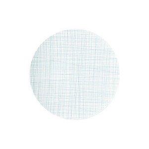 Teller flach 33 cm Mesh Line Aqua Rosenthal