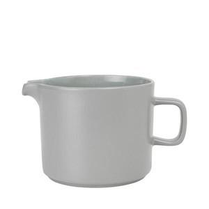 Kanne Mio 1 l Mirage Grau Keramik Blomus