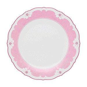 Speiseteller 25cm Fahne Baronesse Estelle Pink Solid Hutschenreuther