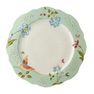Teller 24,5cm Festoniert Mint Uni Laura Ashley